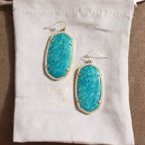 Kendra Scott Amazonite Danielle Earrings